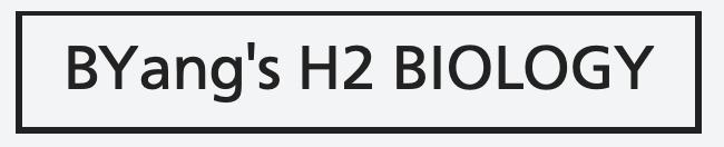 BYang's H2 Biology