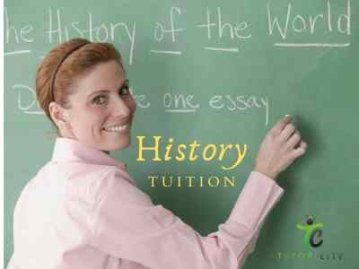 History Tuition by Tutor City